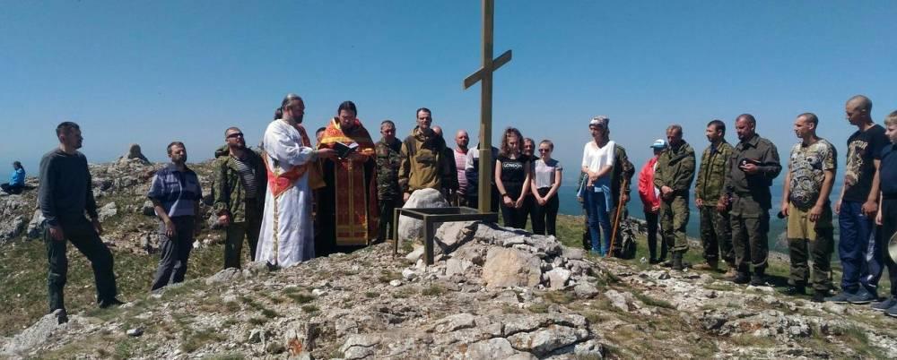 Православные крымчане поднимутся на вершину Чатыр-Дага 28 мая