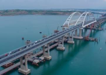 Первое ДТП зарегистрировано на Крымском мосту