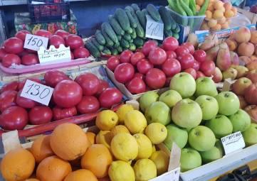 Цены на рынке Анапы