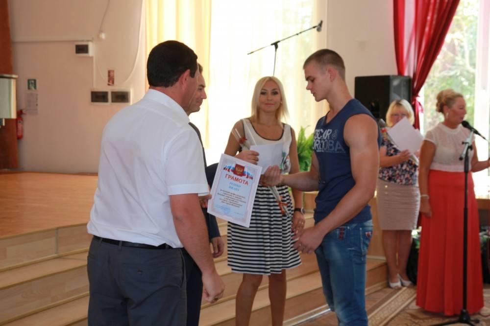 В Феодосии ко дню города наградили спортсменов