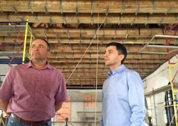 Реставраторы завершают монтаж кровли Большой мечети Ханского дворца в Бахчисарае
