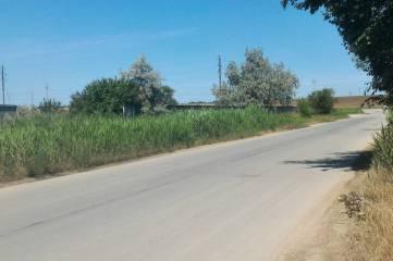 На въезде в Феодосию