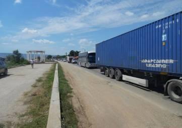 Дорожная сеть Крыма пока справляется с увеличившимся транспортным потоком через Керченский пролив