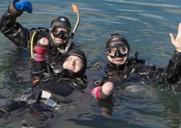 Дайвер без рук и ног намерен установить в Крыму рекорд