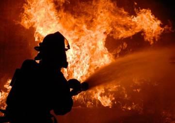 В Феодосии на пожаре погиб неизвестный