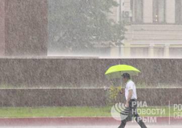 На Крым обрушатся шторм и грозовые ливни