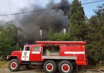 Пожар в литфонде