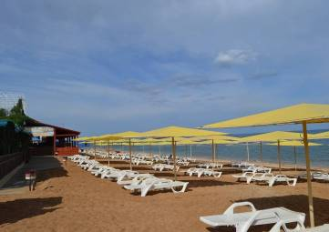 Число оборудованных пляжных территорий в Крыму в этом году увеличится на 44 объекта