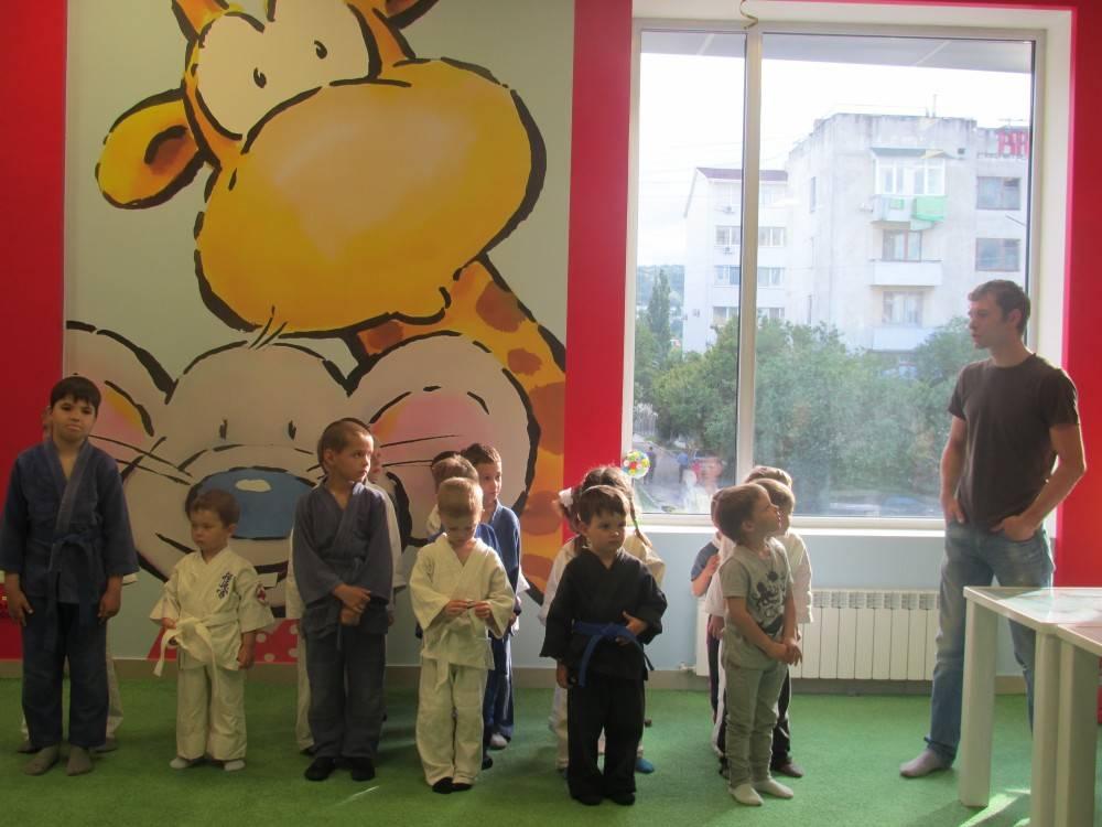 В Феодосии прошел праздник детского дзюдо (ФОТО).