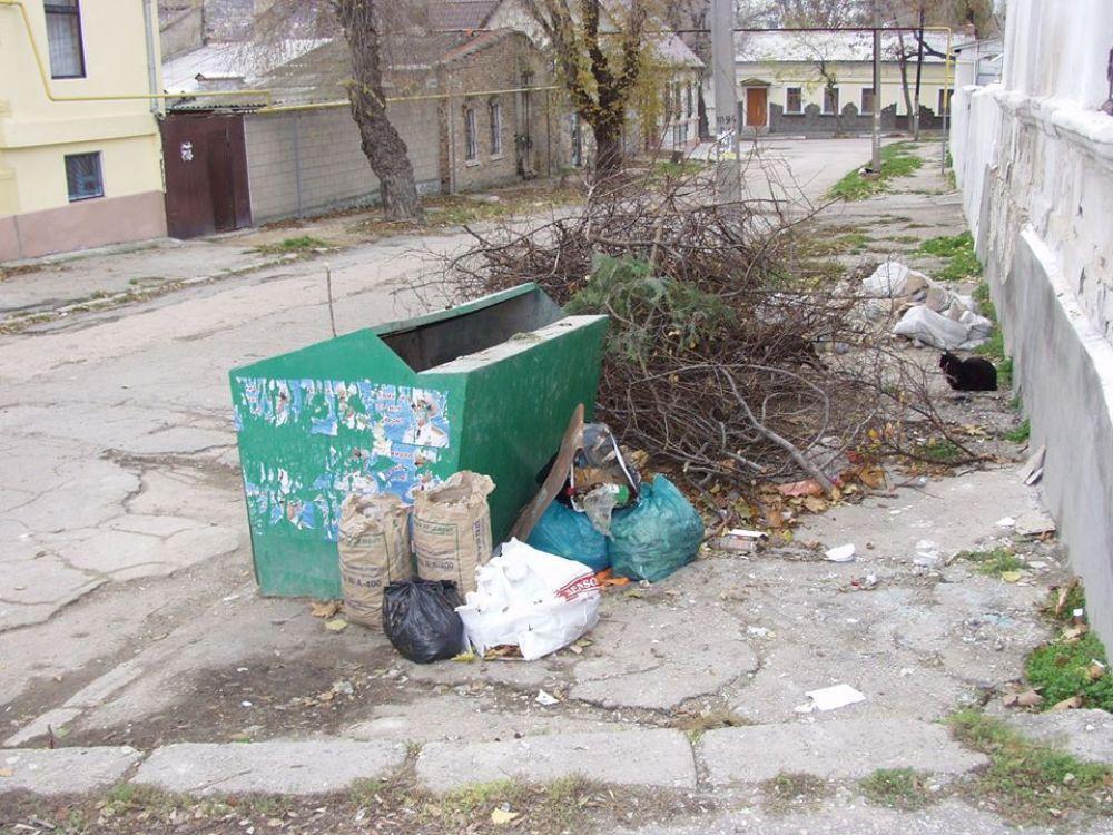 Новые тарифы на вывоз мусора