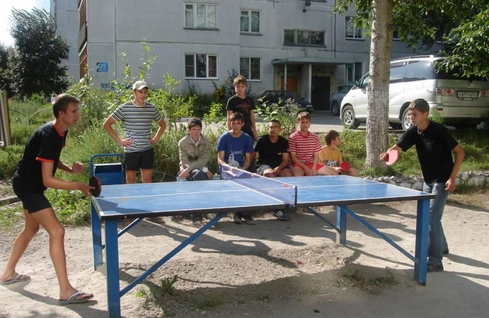 Ко дню физкультурника в Феодосии установят 15 теннисных столов