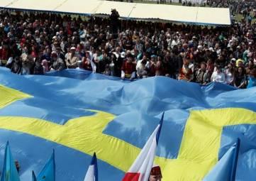 По Крымскому мосту пройдет автопробег с крымско-татарскими флагами