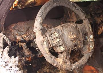 Очередной автопожар на ЮБК: ночью в Гаспре сгорела иномарка