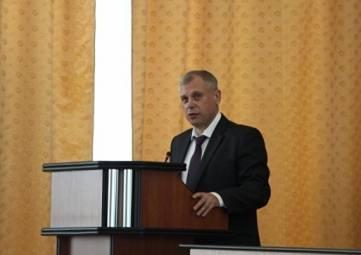 Нового главу крымского главка МЧС представили личному составу