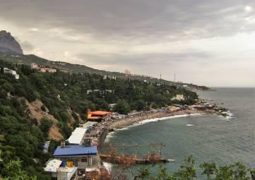 Жители Симеиза одобрили на публичных слушаниях проект берегоукрепительных работ на местном пляже