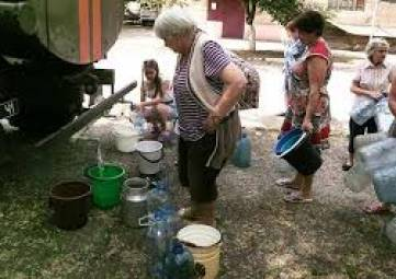 У города не хватает денег на подвоз воды