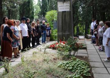 Ялтинцы почтили память земляков – партизан и подпольщиков Великой Отечественной войны