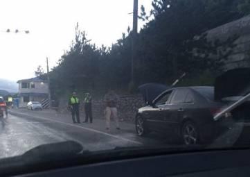 Загорелась на ходу: автопожар на Ялтинской трассе