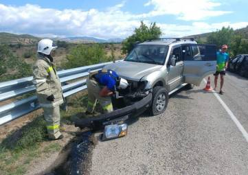 В результате ДТП на трассе Судак – Алушта пострадали 11 человек