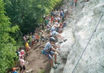 В Бахчисарае завершился фестиваль скалолазания «Крымский Геккон»
