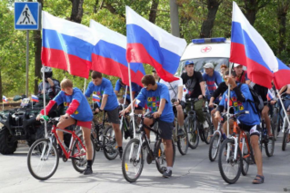 В Феодосии пройдет велопробег, посвященный Дню государственного флага России