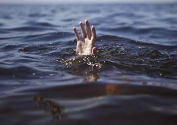 Утонул, но не полностью