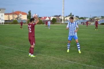 Феодосийская футбольная команда «Кафа» сыграла первый матч чемпионата премьер-лиги КФС