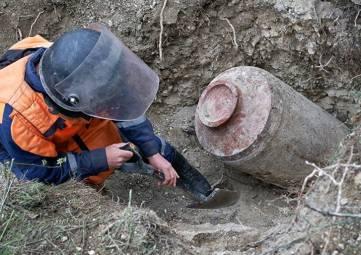 Спасатели обезвредили в Крыму немецкую авиационную бомбу времен ВОВ