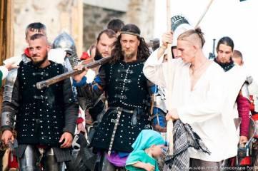 Пятёрка феодосийских бойцов стала лучшей на международном рыцарском фестивале