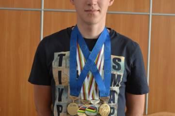 Феодосиец Дмитрий Марков рекордсмен Крыма по количеству медалей европейского и мирового уровня