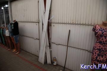 В Керчи на рынке устроили беспредел