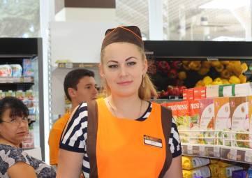 В центре Феодосии открылся супермаркет