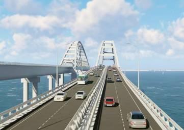 Более миллиона автомобилей проехало по Крымскому мосту с момента открытия движения