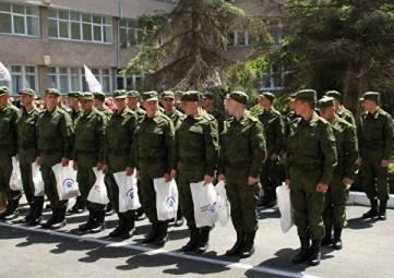 Около 2,5 тысяч крымчан отправились на военную службу в ходе весеннего призыва