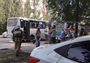 Столкновение автобусов в Феодосии