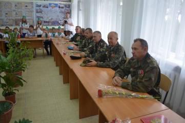 В День знаний открыли музей боевой славы