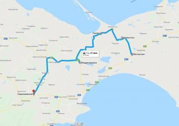 Как не застрять в пробке Приморский - Феодосия