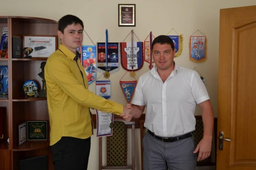 Феодосийский теннисист стал чемпионом Крыма
