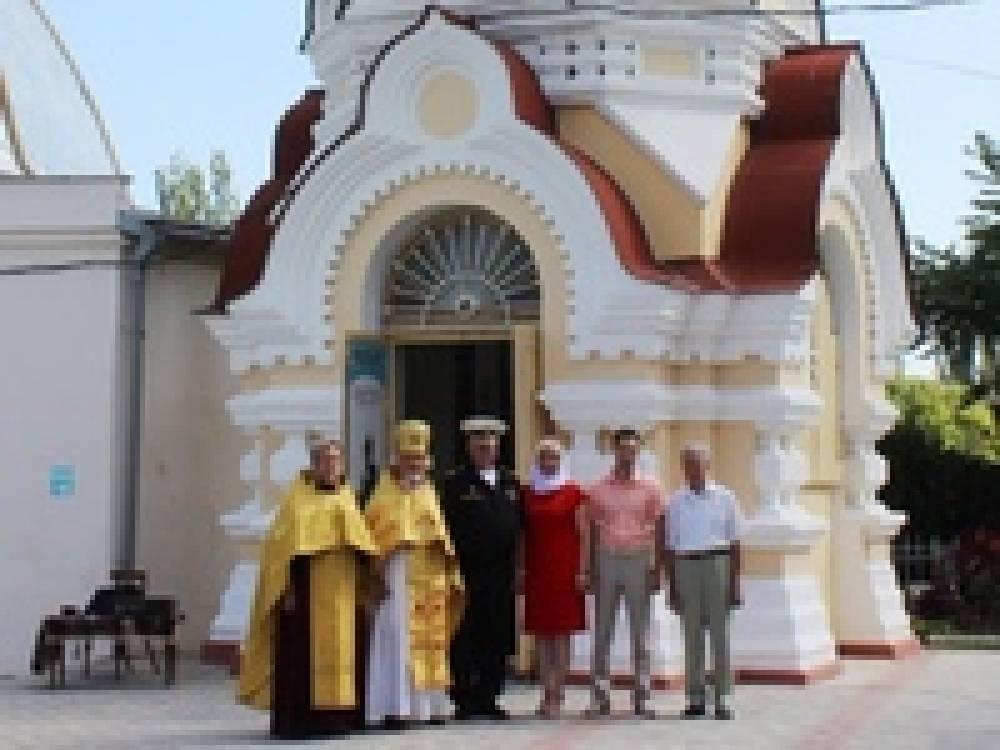 В Феодосии открыли часовню-музей, посвященную Крымской войне