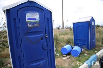 В Керчи туристы не могут попасть в туалет
