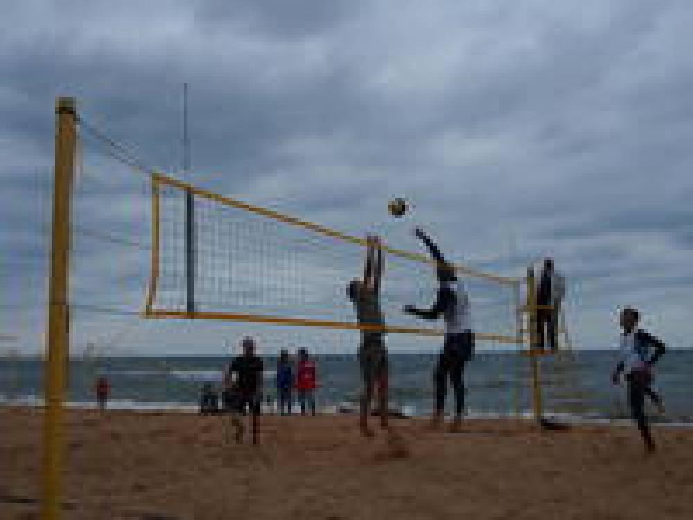 В Феодосии состоялся волейбольный турнир