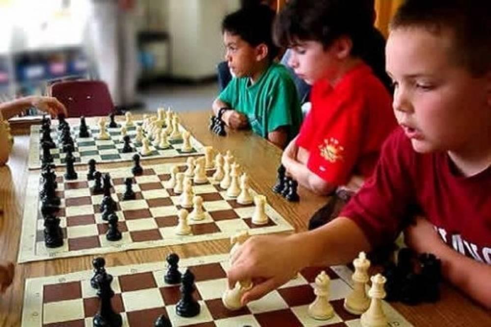 Феодосийская школа-интернат получила в подарок от шахматной федерации России игровой инвентарь