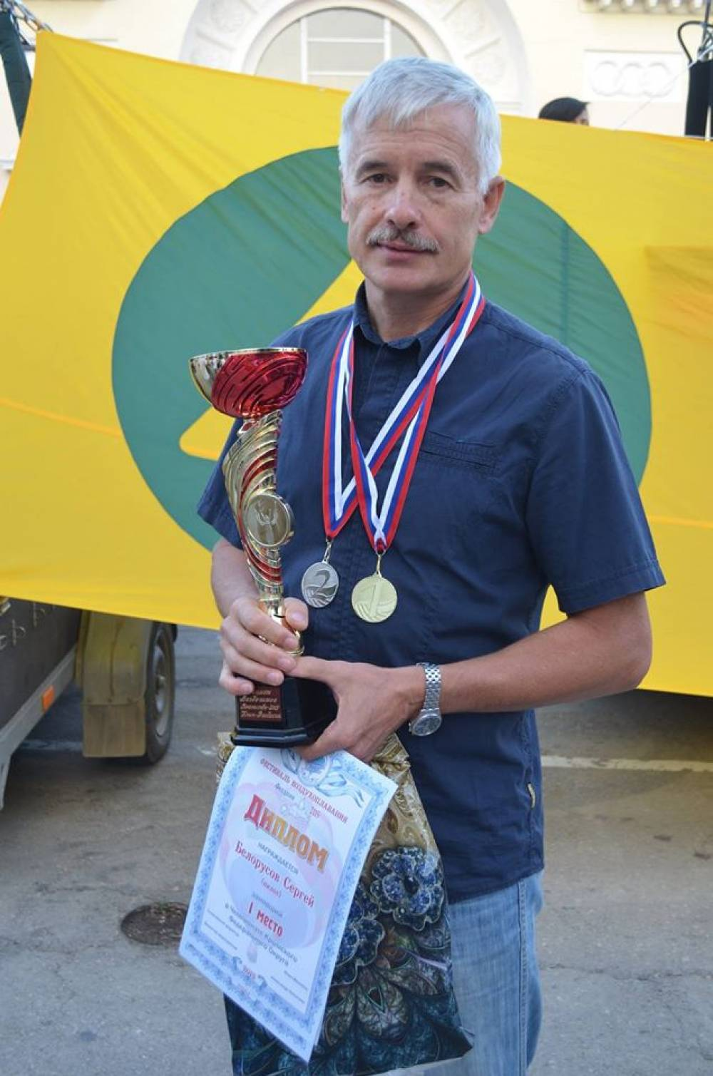 Феодосийские пилоты стали вторыми