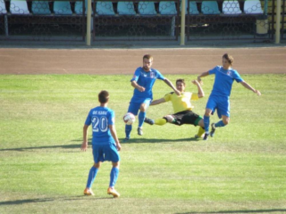 ФК «Кафа» одержал свою первую победу в рамках КФС (обзор матча)