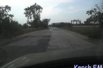 Дорогу на городской пляж Керчи «подлатали»