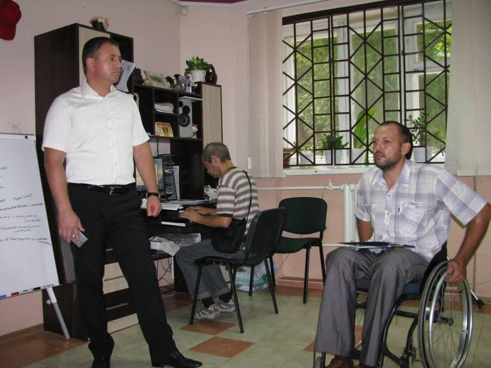 Инвалиды Феодосии обрели новое помещение и реализуют проекты, которые вынашивались годами.
