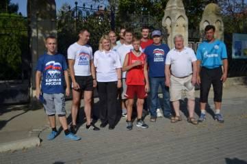 В Феодосии состоялся легкоатлетический пробег, посвященный Дню бега