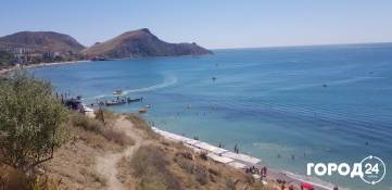 Пляж за вторым мысом Орджо