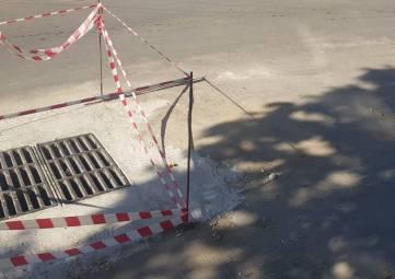 Ливневку отремонтировали, яму-забыли