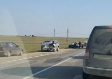 «Лобовое» ДТП в Крыму: есть пострадавшие